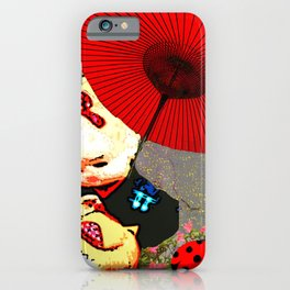 Kawaii Ladybird iPhone Case