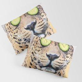 Leopard in a Towel Pillow Sham