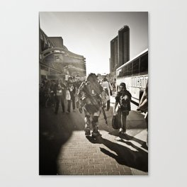walkaway Canvas Print