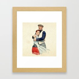 The Quiet Man - Watercolor Framed Art Print