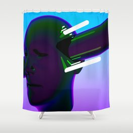ANXIETY 101 Shower Curtain