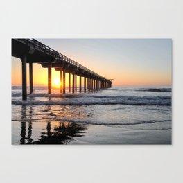 Scripps Sunset Canvas Print