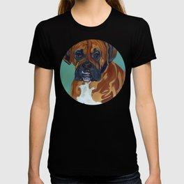Boxer Dog Pet Portrait T-shirt