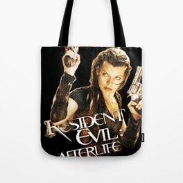 Milla Jovovich Resident Evil Afterlife Tote Bag
