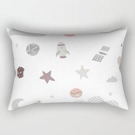 space galaxy clouds Rectangular Pillow