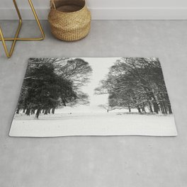 Winter in the Park - Print (RR 271) Rug