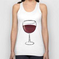 wine Tank Tops featuring Wine by jssj