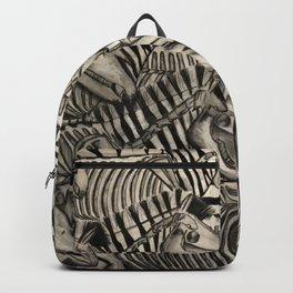 Zebra Skeletons Backpack