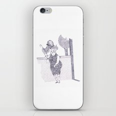 Tremebunda iPhone & iPod Skin