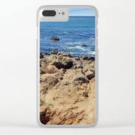 Rocky Tide Pool Clear iPhone Case