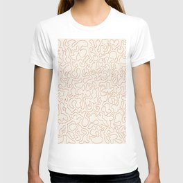Puzzle Drawing #2 Gold T-shirt