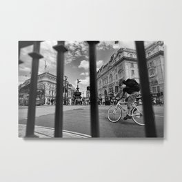 London_Biker Metal Print