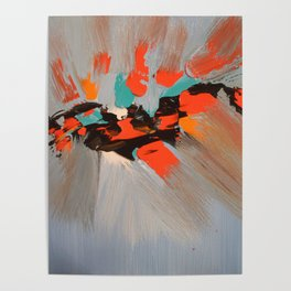 Beacon Abstract Painting Poster