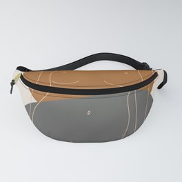 Line Female Figure 81 Fanny Pack