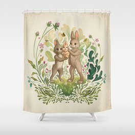 Lapins Shower Curtain