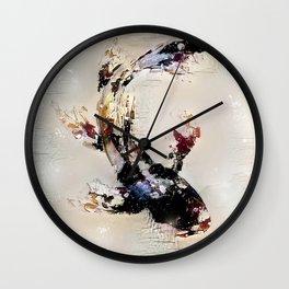 Nishikigoi Wall Clock