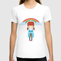 oz T-shirts featuring Dorothy Wizard of Oz by Steph Dillon