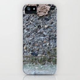 Brown Crumble Concrete iPhone Case