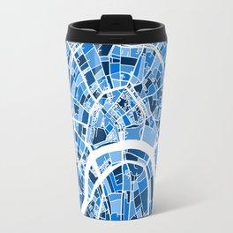 Moscow City Street Map Travel Mug