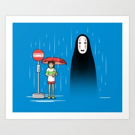 My Lonely Neighbor Art Print