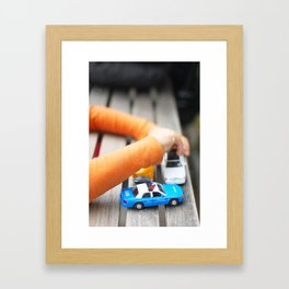 284. Little Police car, New York Framed Art Print