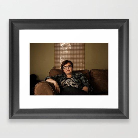 Cousin Framed Art Print