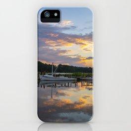 Sunset on Jones Creek iPhone Case