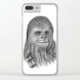 Wookiee Chewbacca Clear iPhone Case