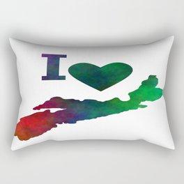 I Love Nova Scotia Rectangular Pillow