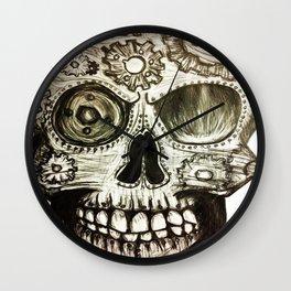 Skull of Gears Wall Clock