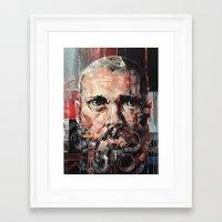 danny ivan Framed Art Prints featuring Ivan by Arthur R Piwko (picpoc)