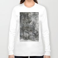 alphabet Long Sleeve T-shirts featuring Alphabet by cafelab