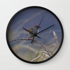 Dunnock Wall Clock