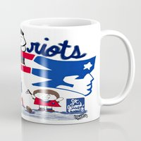 patriots Mugs featuring Team Patriots!  by Happy Positivity