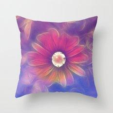 Flower Fantasy 2 Throw Pillow