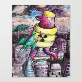 Monsta Canvas Print