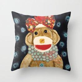 Sweetpea Throw Pillow