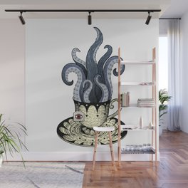 Kraken tea Wall Mural