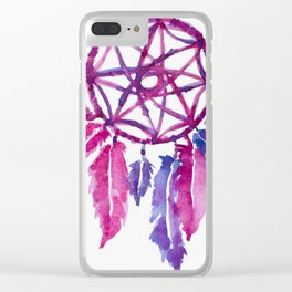 Dreamcatcher Clear iPhone Case