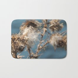Blowing in the wind Bath Mat