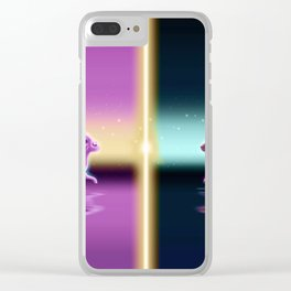 Espeon And Umbreon Clear iPhone Case