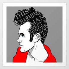 This Charming Moz Art Print