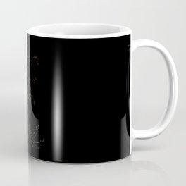 Mermaid Ariel skeleton black Coffee Mug
