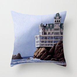 Cliff House - San Franisco Throw Pillow