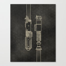 LightSabers Canvas Print