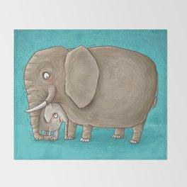 trunk nest Throw Blanket