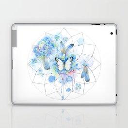 Dreamcatcher No. 1 - Butterfly Illustration Laptop & iPad Skin