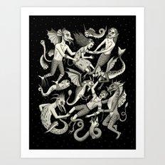 Ravished Art Print