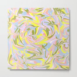 Marble pattern design Metal Print