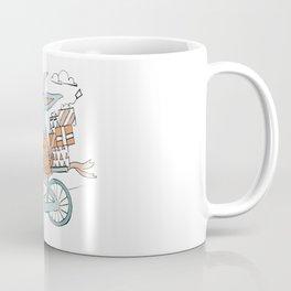Bunny Bicycling Buddies Coffee Mug